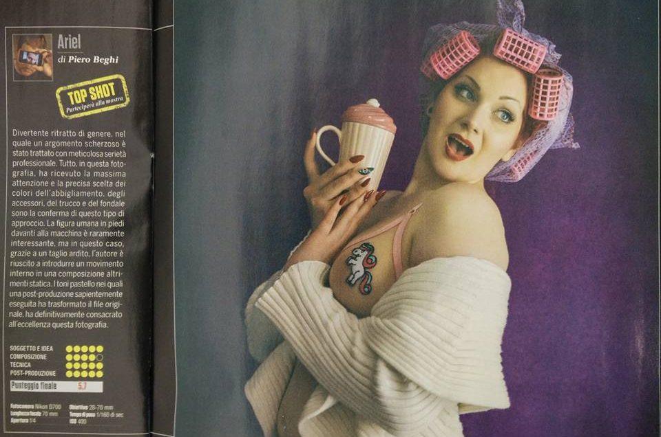 Su Nikon Photography Magazine di Febbraio