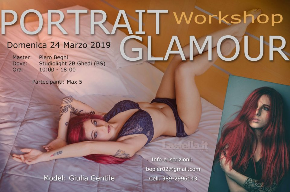 Workshop Portrait - Glamour Domenica 24 Marzo