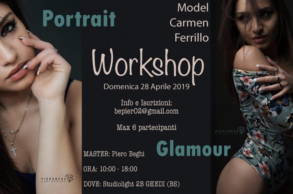 Workshop Portrait - Glamour Domenica 28 Aprile